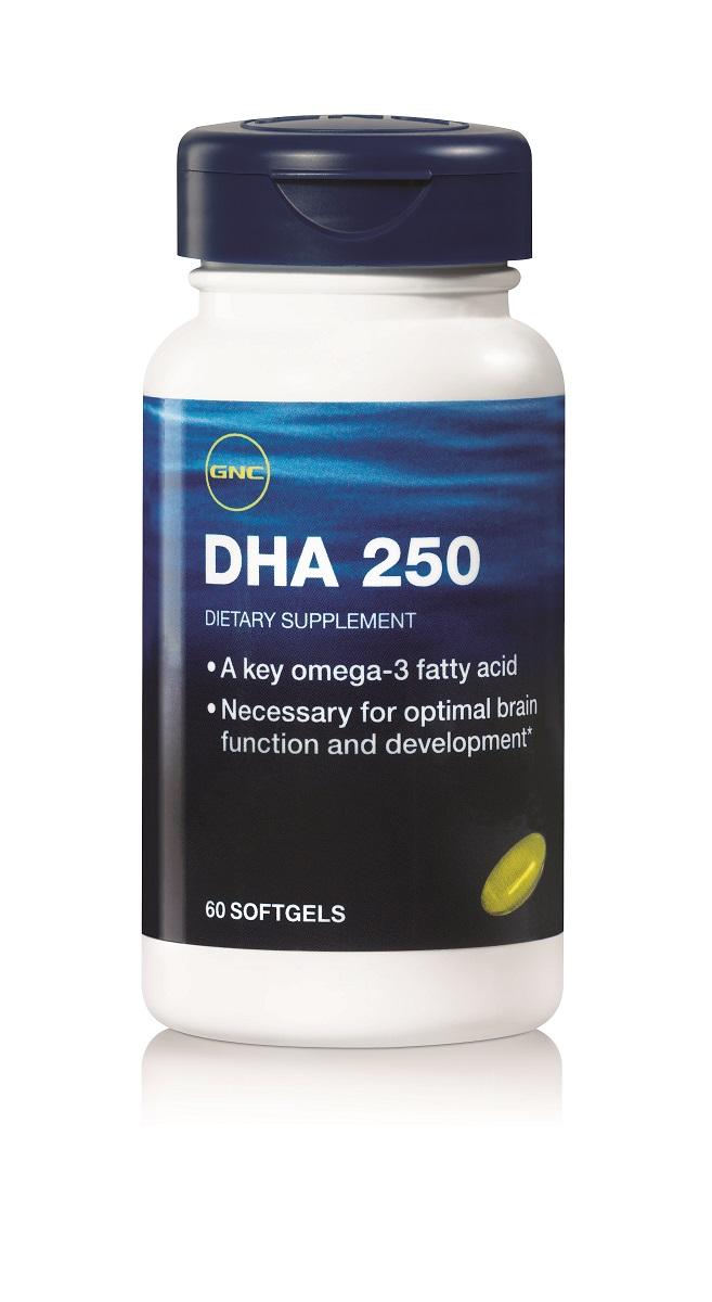 Рыбий жир GNC DHA, 250 мг, 60 капсул126321ненасыщенная Омега-3 жирная кислота повышает умственную работоспособностьукрепляет память и питает мозг предотвращает накопление жира в организме улучшает состояние кожи придаёт волосам блеск и шелковистостьСостав в 1 капсуле: DHA - 250 мгEPA - 104 мгПрочие ингредиенты: желатин, вода очищенная, глицеринТовар не является лекарственным средством.Товар не рекомендован для лиц младше 18 лет.Могут быть противопоказания и следует предварительно проконсультироваться со специалистом.