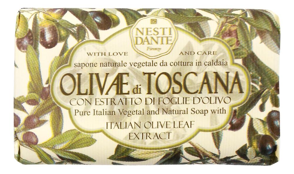 Nesti Dante Мыло Olivae di Toscana - Тосканская олива 150г9Оливковое дерево – это символ жизни, мудрости, процветания, мира и долголетия. В знак признания к этому замечательному дереву Nesti Dante создал три вида мыла, вдохновленные сортами оливок из разных регионов Италии.