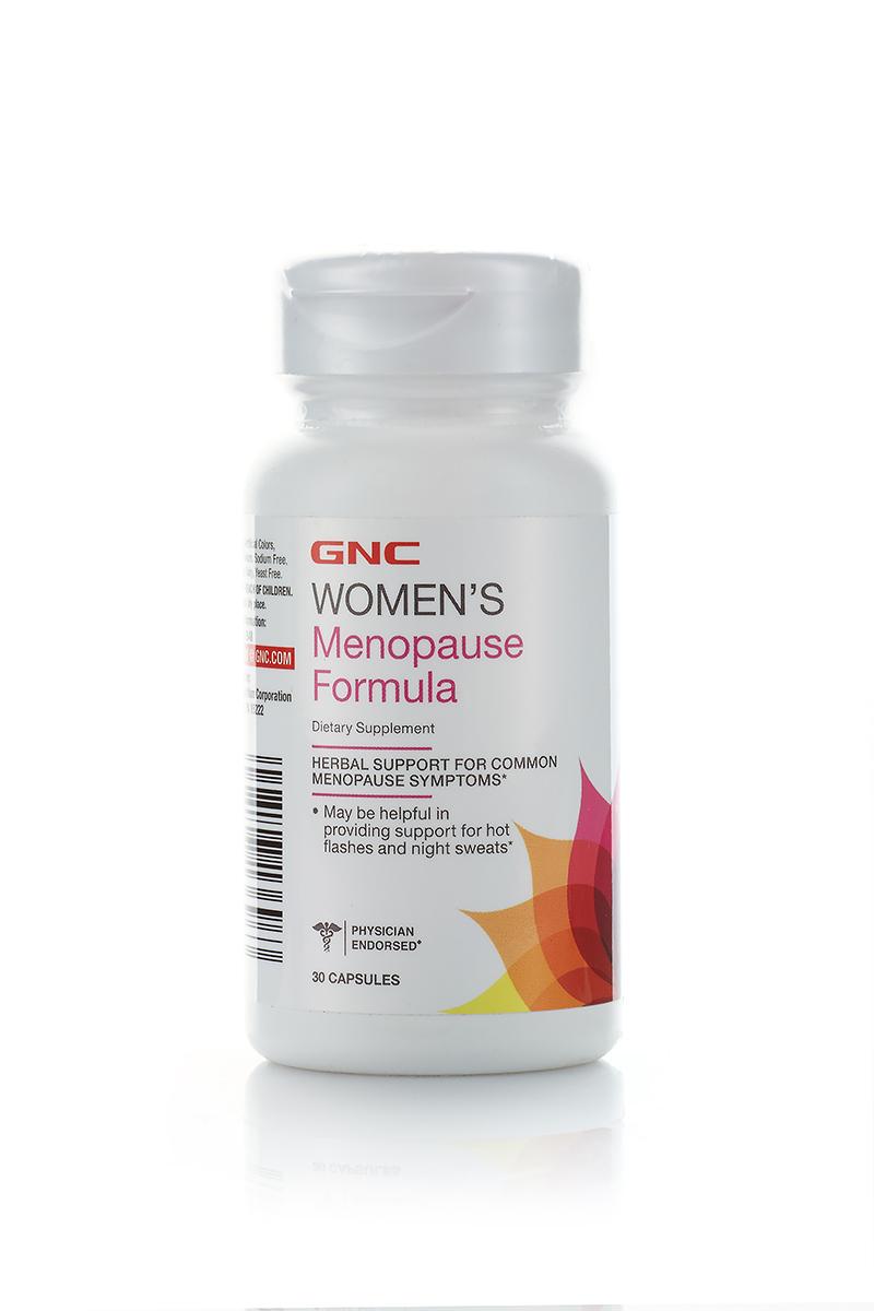 Комплекс фитоэстрогенов GNC MenoPause Formula, 30 капсул149220_30Комплекс фитоэстрогенов нормализует баланс женских гормонов в зрелом возрасте. Оказывает мягкое седативное, релаксирующее и спазмолитическое действие, значительно уменьшает выраженность приливов.Обладает антидепрессивным свойством, улучшает настроение.Содержание в 1 капсуле:Экстракт корней Чёрного стеблелиста (Cimicifuga racemosa)160 мгКонцентрат соевых изофлавонов (40% Isoflavones = 40 mg)100мгПрочие ингредиенты: целлюлоза, желатин, мальтодекстрин.Товар не является лекарственным средством.Товар не рекомендован для лиц младше 18 лет.Могут быть противопоказания и следует предварительно проконсультироваться со специалистом.
