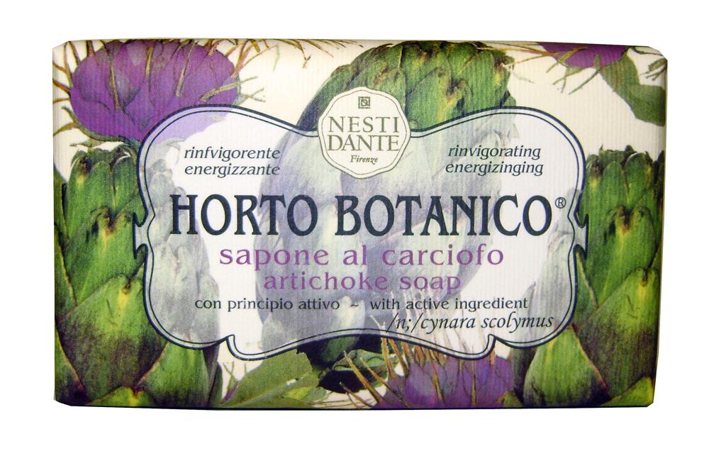 Nesti Dante Мыло Horto Botanico. Артишок, 250 гMP59.4DВеликолепное растительное мыло премиум-класса Nesti Dante Horto Botanico. Артишок изготовлено по старинным рецептам и по традиционной котловой технологии, в составе мыла только натуральные оливковое и пальмовое масло высочайшего качества, для ароматизации использованы органические эфирные масла. Экстракт артишока оздоравливает и бодрит, мыло прекрасно заботится о коже, хорошо мылится и очищает загрязнения. Благодаря содержанию натуральных компонентов, кожа становится нежной, увлажненной и упругой. Изысканная флорентийская бумага, в которую завернуто мыло, расписана акварелью, на каждом кусочке мыла выгравирована надпись With Love And Care (С любовью и заботой).Товар сертифицирован.