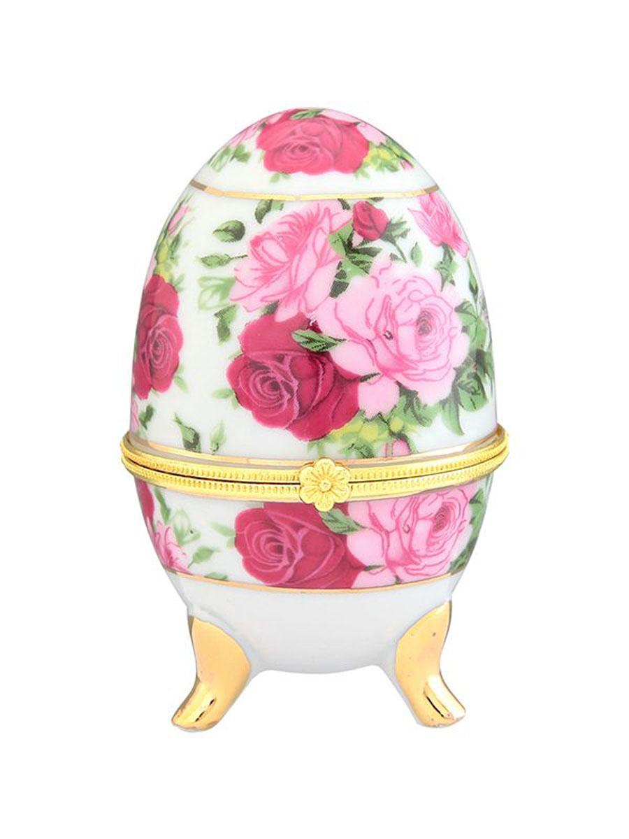Шкатулка Elan Gallery Розовый букет, высота 10 см41619Замечательный сувенир и подарок. Идеально подходит для хранения мелких украшений. Прекрасные шкатулки Elan Gallery являются хорошим решением для вашего гардероба. Данная вещь будет хорошей покупкой или подарком другу. Размер шкатулки: 6 х 6 х 10 см.