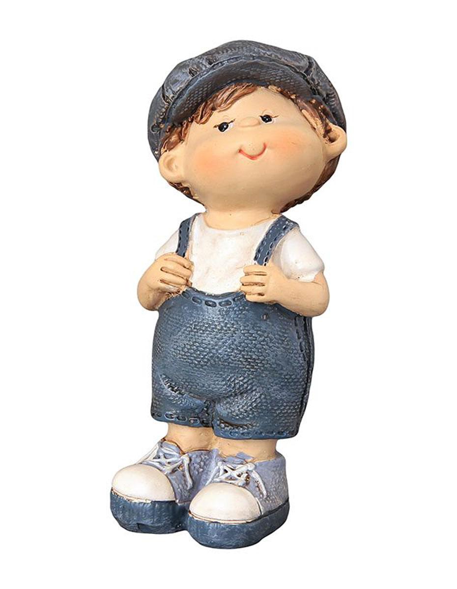 Фигурка декоративная Elan Gallery Любопытный мальчик, высота 9,5 смPARIS 75015-8C ANTIQUEДекоративная фигурка с изображением мальчика станет прекрасным сувениром, который вызовет улыбку и поднимет настроение. Фигурка выполнена из полистоуна.