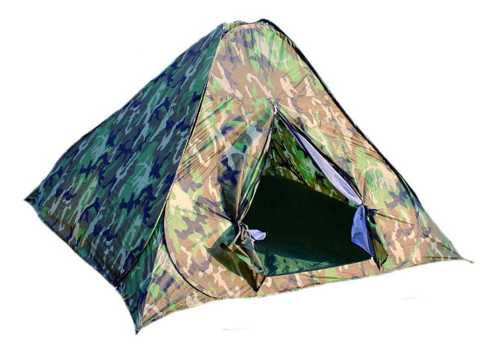 Палатка Reka, самораскладывающаяся, 2-местная, цвет: хаки