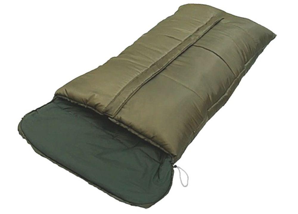Спальный мешок Чайка GEOLOG 600, цвет: темно-зеленый, молния посередине67742Спальный мешок-одеяло с подголовником Чайка GEOLOG 600- это большой спальный мешок, который разработан для использования при низких температурах.Лучшее решение, когда нет необходимости в экономии веса и объема.Основной его особенностью является большой размер мешка и утепленная центральная молния.Синтетический утеплитель нового поколения термофайбер обладает повышенными теплоизолирующими свойствами. Он легкий, мягкий, особо теплый, хорошо пропускает воздух, не впитывает влагу.Рекомендован рыболовам и охотникам. Комплектуется компактным чехлом.Размер: 190+30 х 90 см.Материал наружный: Полиэстеровая Таффета 190T. Материал внутренний: Бязь (100% хлопок) / эпонж (100% полиэстер).Наполнитель: Термофайбер 600г/м2.Температурный режим: -20/-5 С.Вес: 3,05 кг.