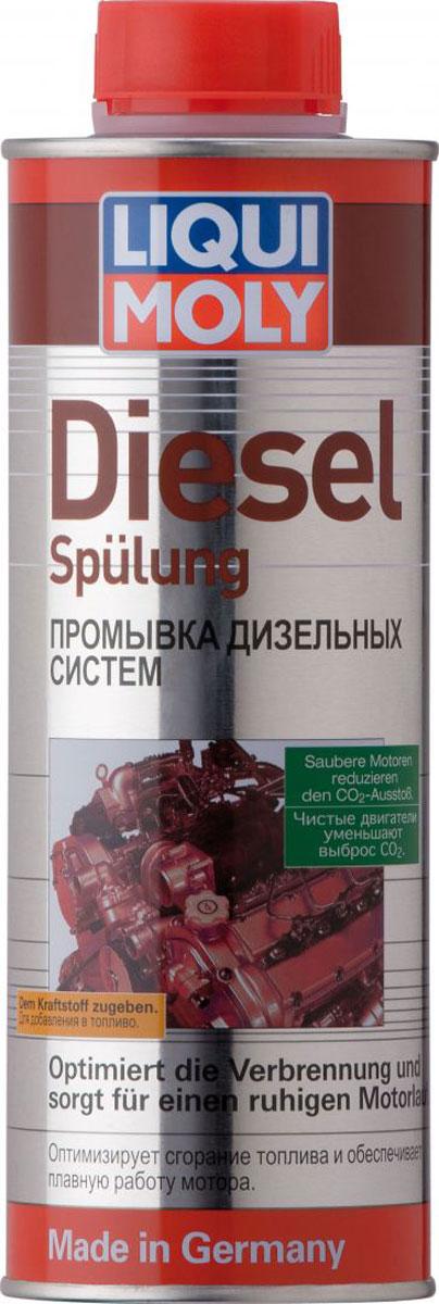 Промывка Liqui Moly Diesel Spulung, для дизельных систем, 0,5 л1912Промывка Liqui Moly Diesel Spulung - это высокоэффективное средство для дизельного топлива, очищающее форсунки от нагара и отложений. Использование присадки позволяет также защитить топливную систему от коррозии, улучшить параметры двигателя за счет повышения цетанового числа и улучшения процесса сгорания топлива.Особенности:Очищает топливную систему.Удаляет нагар и отложения с форсунок.Повышает цетановое число дизельного топлива.Предотвращает закисание игл.Защищает от коррозии.Обеспечивает оптимальное сгорание топлива.Улучшает эксплуатационные показатели автомобиля, мощность и приемистость.Основа: присадки, растворенные в носителе.Товар сертифицирован.