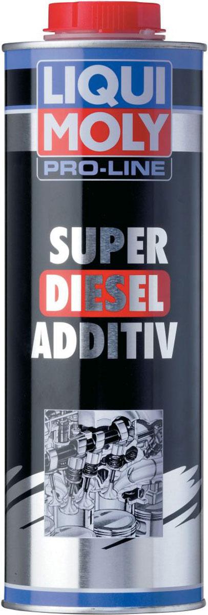Модификатор дизельного топлива Liqui Moly Pro-Line Super Diesel Additiv, 1 лS03301004Liqui Moly Pro-Line Super Diesel Additiv - это профессиональный модификатор топлива для повышения цетанового числа для применения на АЗС, предприятиях и в транспортных компаниях. Повышает воспламеняемость холодного топлива, что улучшает холодный пуск дизельного двигателя. Обладает комплексным очищающими, защитным и смазывающим действием на всю топливную систему. Повышает силовые показатели двигателя за счет повышения качества сгорания топлива.Особенности:Обеспечивает чистоту и предотвращает отложения в топливной системе и камере сгорания.Поддерживает чистоту впрыскивающих форсунок, обеспечивает оптимальное сгорание в двигателе, что ведет к малому удельному расходу топлива и максимальной мощности двигателя.Предотвращает пригорание и осмоление форсуночных игл.Повышает смазочный эффект дизельного топлива с малым содержанием серы (low sulphur diesel согласно DIN EN 590) и защищает распределительный топливный насос от износа.Повышает цетановое число ДТ, и смягчает процесс сгорания.Содержит антиоксидант и предотвращает коррозию.Совместимость с любыми современными дизельными окислительными катализаторами.Основа: комбинация присадок в жидкости-носителе.Товар сертифицирован.