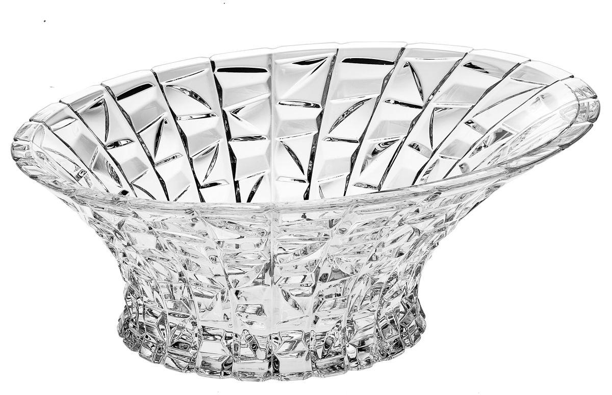 Салатник Crystal Bohemia, диаметр 33 см54 009312Настоящий чешский хрусталь с содержанием оксида свинца 24%, что придает изделиям поразительную прозрачность и чистоту, невероятный блеск, присущий только ювелирным изделиям , особое, ни с чем не сравнимое светопреломление и игру всеми красками спектра как при естественном, так и при искуственном освещении. Продукция из Хрусталя соответствуют всем европейским и российским стандартам качества и безопасности. Традиции чешских мастеров передаются из поколения в поколение. А высокая художаственная ценность иделий признана искушенными ценителями во всем мире. Продукция из Хрусталя соответствуют всем европейским и российским стандартам качества и безопасности.