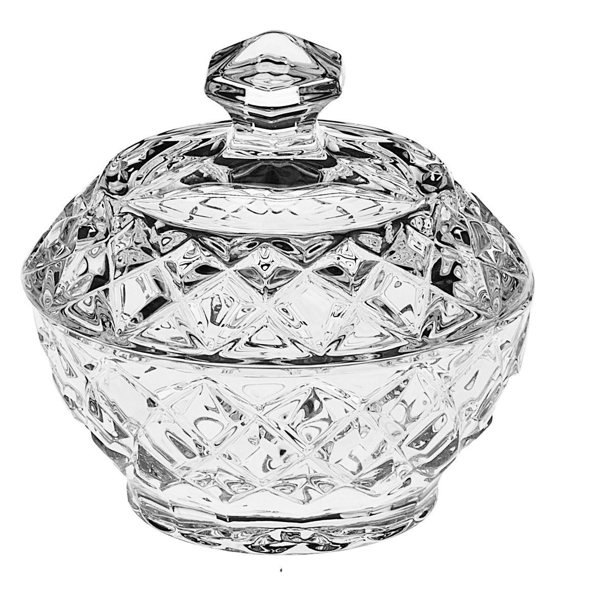 Доза Crystal Bohemia, диаметр 9,6 см471304Доза Crystal Bohemia выполнена из прочного высококачественного хрусталя. Она излучает приятный блеск и издает мелодичный звон. Доза сочетает в себе изысканный дизайн с максимальной функциональностью. Доза не только украсит дом и подчеркнет ваш прекрасный вкус, но и станет отличным подарком.