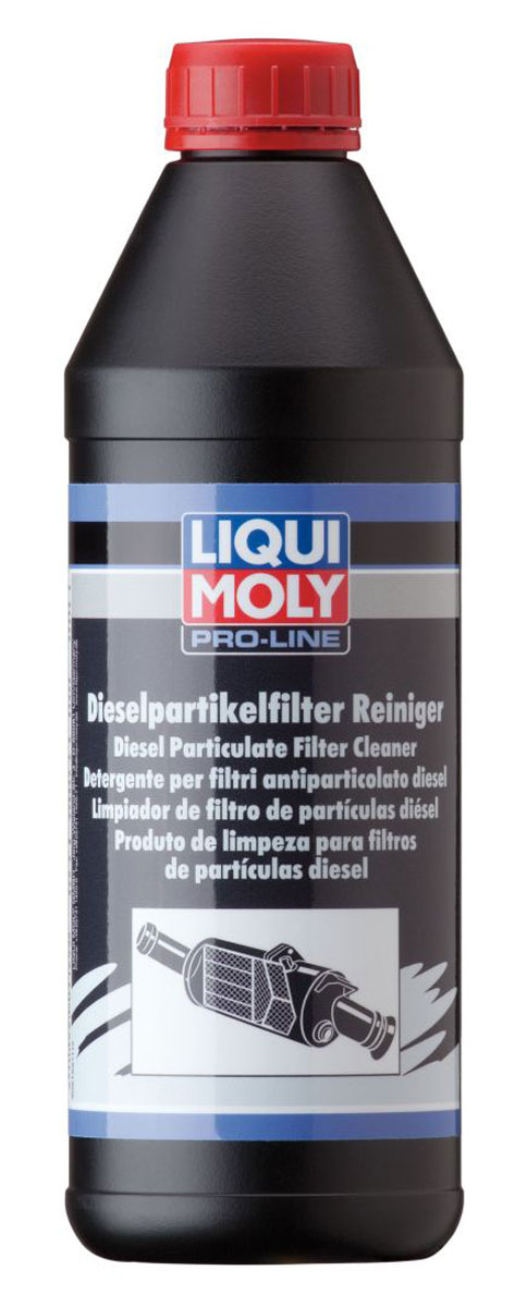 Очиститель дизельного сажевого фильтра Liqui Moly Pro-Line Diesel Partikelfilter Reiniger, для грузовых автомобилей, 1 лCA-3505Liqui Moly Pro-Line Diesel Partikelfilter Reiniger применяется для восстановления всех функций сажевых фильтров, нарушенных в результате тяжелых условий эксплуатации. Восстанавливает пропускную способность, удаляет нагары, закоксовки и сульфидные соединения с керамического блока сажевого фильтра и дизельного катализатора. Рекомендуется для легковых автомобилей и малокубатурной силовой техники.Особенности:Растворяет типичные загрязнения дизельного фильтра сажевых частиц.Эффективен для всех дизельных сажевых фильтров.Обеспечивает оптимальные ходовые качества автомобиля и низкое потребление топливо.Уменьшает эксплуатационные расходы.Товар сертифицирован.