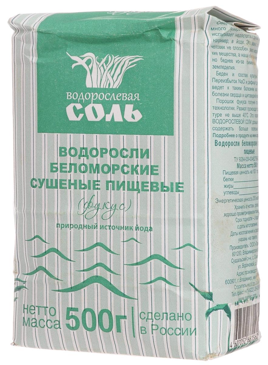 Гарнец Фукус водорослевая соль, 500 гбтг003Гарнец Фукус - водорослевая соль с порошком фукуса. Эти пищевые водоросли получают по уникальной технологии. Размол происходит при температуре не выше 40°C. Это позволяет соли дольше храниться и содержать больше полезных веществ.