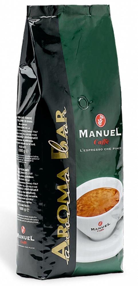 Manuel Aroma Bar кофе в зернах, 1 кг кофе в зернах buscaglione euro bar 1кг