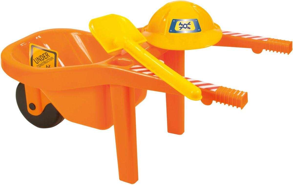 Zebratoys Тачка с каской и лопатой - Игры на открытом воздухе