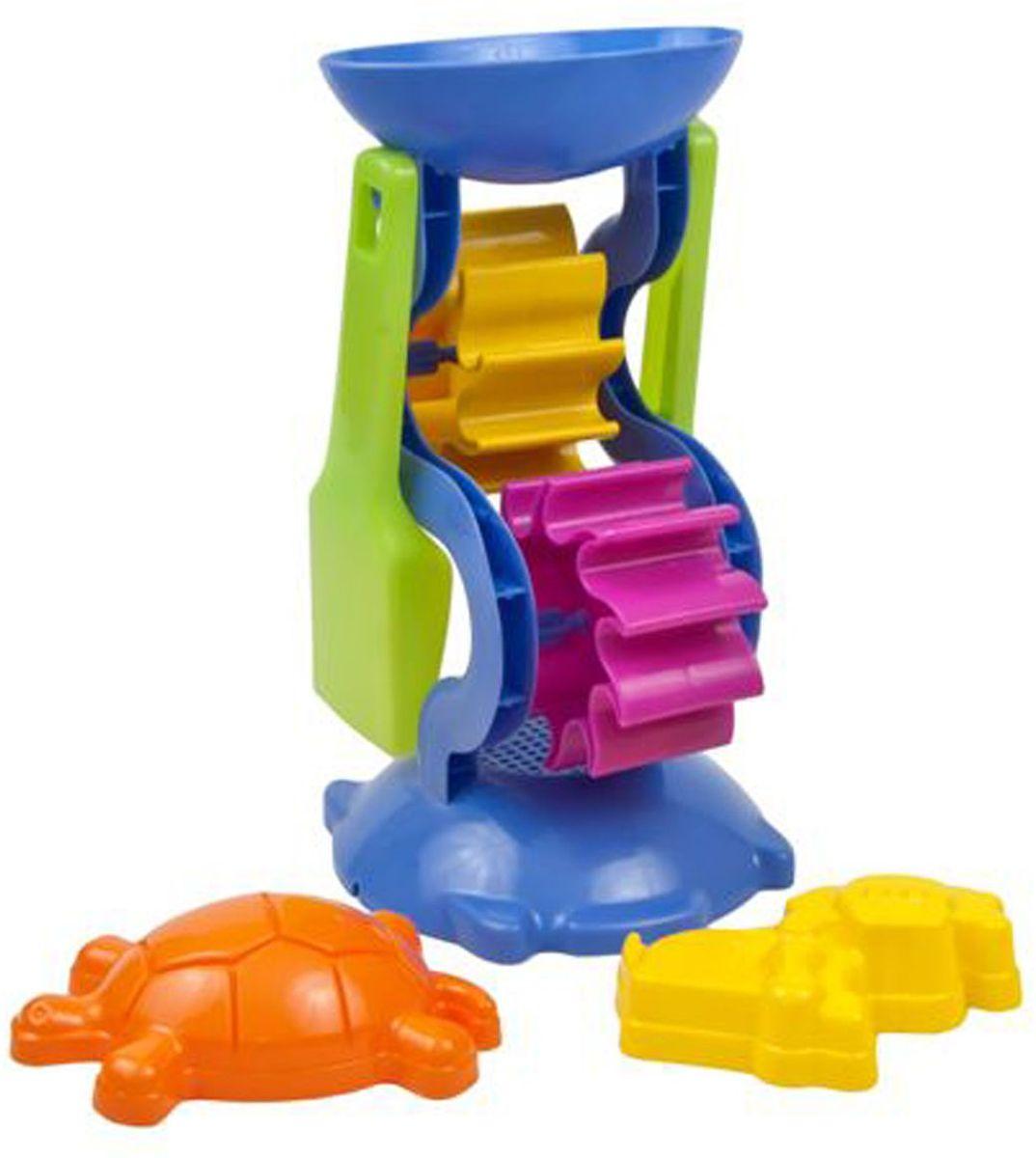 Песочный набор это замечательный подарок для малышей, он подходит как для игры в песочнице так и для отдыха на пляже. Ударопрочный пластик и качественные красители надолго сохранят внешний вид игушки и будет радовать Ваших детей.