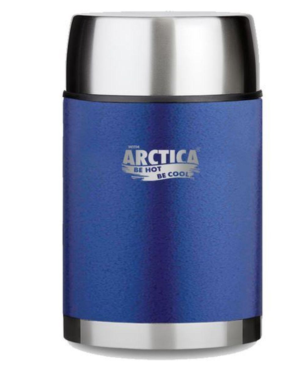 Термос Арктика, с чашкой, цвет: синий, 1 л1301210Термос Арктика с широким горлом сохранит вашу еду горячей и вкусной в течении долгого времени. Корпус выполнен из высококачественной нержавеющей стали. Крышку можно использовать в качестве стакана, так же есть дополнительная чашка. Он составит компанию за обеденным столом, улучшит настроение и поднимет аппетит, где бы этот стол не находился. Пусть даже в глухом отсыревшем лесу, где даже развести костер будет стоить немалого труда. Забудьте об этих неудобствах - вместительный и притом компактный термос Арктика с радостью послужит вам в качестве миниатюрной полевой кухни, поднимет настроение нарядным внешним видом и вкусной домашней едой.Диаметр горлышка: 8 см.Диаметр основания: 10,7 см.Высота (с учетом крышки): 19,5 см.Время сохранения температуры (холодной и горячей): 16 часов.