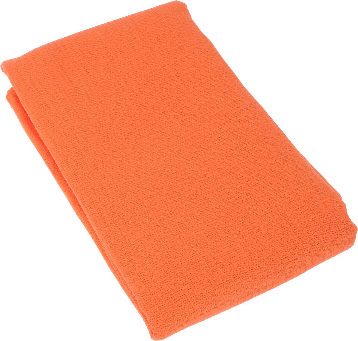 Полотенце-простыня для бани и сауны Банные штучки, цвет: оранжевый, 80 х 150 см531-105Вафельное полотенце-простыня для бани и сауны Банные штучки изготовлено из натурального хлопка. В парилке можно лежать на нем, после душа вытираться, а во время отдыха использовать как удобную накидку. Такое полотенце-простыня идеально подойдет каждому любителю бани и сауны.