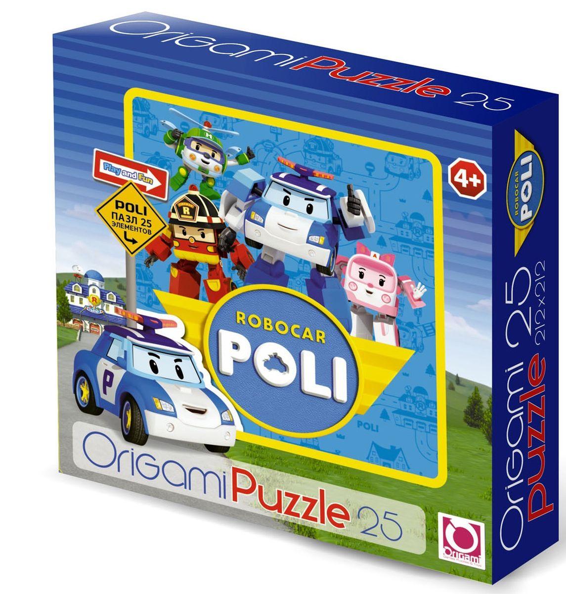 Оригами Пазл для малышей Robocar Poli 00165