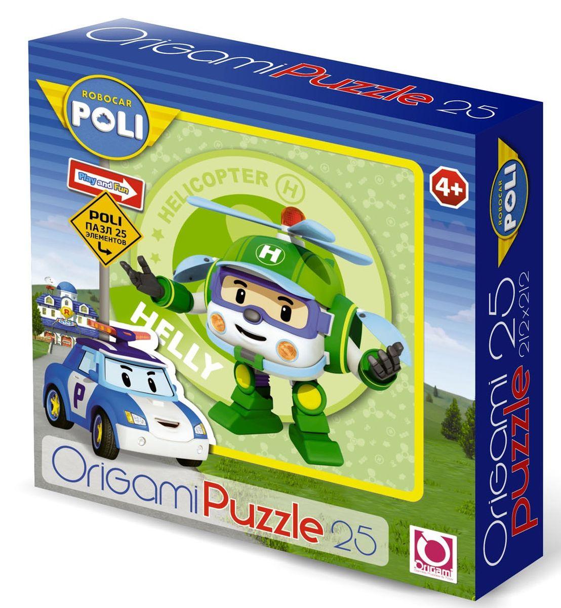 Оригами Пазл для малышей Robocar Poli 00163 оригами пазл для малышей цыпленок с подарком