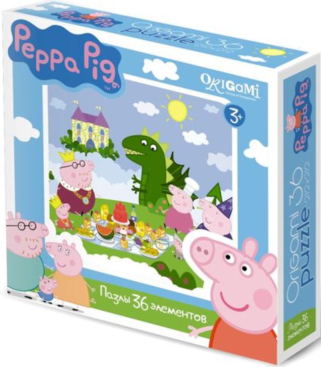Оригами Пазл для малышей Peppa Pig 01549 оригами пазл для малышей цыпленок с подарком