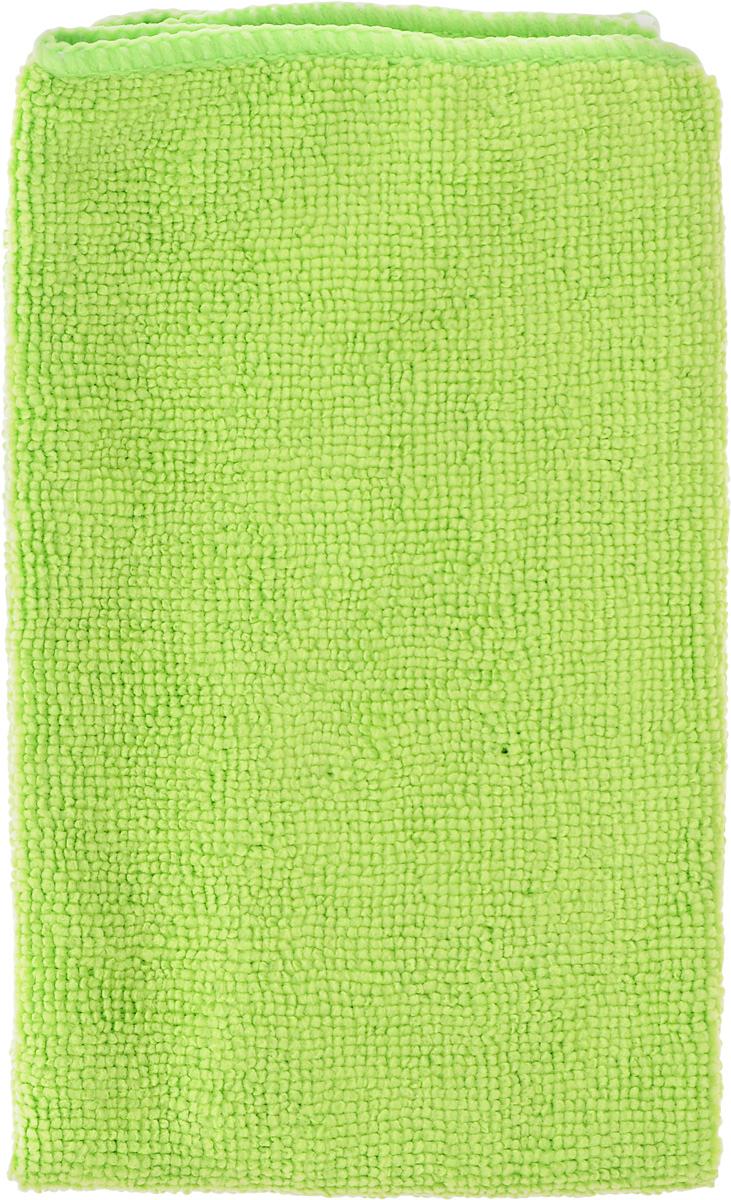 Салфетка автомобильная Zipower, цвет: зеленый, 40 х 30 смRC-100BWCАвтомобильная салфетка Zipower легко очищает любые поверхности даже без использования чистящих средств. Используется как для сухой, так и для влажной уборки. Изделие выполнено из высококачественной микрофибры. Благодаря своему материалу, салфетка хорошо отстирывается и быстро высыхает. Она удаляет жирные пятна без очистителей. Отлично впитывает воду, располировывает до блеска. Салфетка не рвется, не оставляет волокон, не линяет и не скатывается.Размер салфетки: 40 х 30 см.Плотность: 210 г/м2.