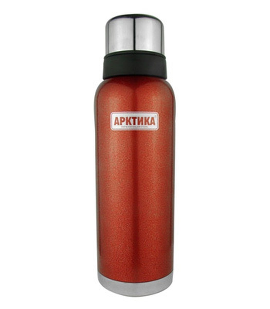 Термос Арктика, с чашей, цвет: красный, стальной, черный, 1,2 л115510Термос Арктика изготовлен из высококачественной нержавеющей стали с матовой полировкой. Двойная колба из нержавеющей стали сохраняет напитки горячими и холодными до 32 часов. В комплекте дополнительная пластиковая чашка.Удобный, компактный и практичный термос пригодится в путешествии, походе и поездке. Не рекомендуется использовать в микроволновой печи и мыть в посудомоечной машине.Диаметр горлышка: 4,5 см. Диаметр основания термоса: 9 см. Диаметр чаши (по верхнему краю): 7,5 см.высота чаши: 6 см.Диаметр крышки (по верхнему краю): 7 см.Высота крышки: 4,5 см.Высота термоса: 31 см.Время сохранения температуры (холодной и горячей): 32 часа.