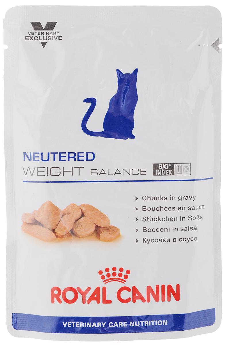 Консервы Royal Canin Neutered Weight Balance для кастрированных котов и стерилизованных кошек, склонных к ожирению, 100 г0120710Консервы Royal Canin Neutered Weight Balance предназначены для кастрированных/стерилизованных котов и кошек с момента операции до 7 лет, склонных к избыточному весу. Особенности: - Умеренное содержание энергии Пониженное содержание энергии в корме ограничивает набор избыточного веса у кастрированных/стерилизованных котов и кошек, склонных к ожирению. - Комплекс антиоксидантов Комплекс антиоксидантов синергичного действия (витамин Е, витамин С, таурин, лютеин) нейтрализует воздействие свободных радикалов. - S/O Index Знак S/O Index на упаковке означает, что диета предназначена для создания в мочевыделительной системе среды, неблагоприятной для образования струвитных кристаллов и кристаллов оксалата кальция. Состав: свинина и мясо птицы, куриная печень, пшеничная мука, целлюлоза, минеральные вещества, пшеничная клейковина, желирующее вещество, таурин, гидролизат дрожжей (источник маннановых олигосахаридов), экстракт бархатцев прямостоячих (источник лютеина), L-карнитин, витамины. Питательные добавки (на 1 кг): Витамин D3 230 МЕ, Железо 2 мг, Йод 0,4 мг, Марганец 0,6 мг, Цинк 6 мг. Содержание питательных веществ (на 100 г): белки 9 г, жиры 2,5 г, углеводы 3,4 г, клетчатка пищевая 2 г, клетчатка общая 1,5 г, Омега 6 0,35 г, Омега 3 0,02 г, кальций 0,3 г, фосфор 0,23 г, натрий 0,17 г, калий 0,12 г. Энергетическая ценность (на 100 г): 71 ккал. Товар сертифицирован.