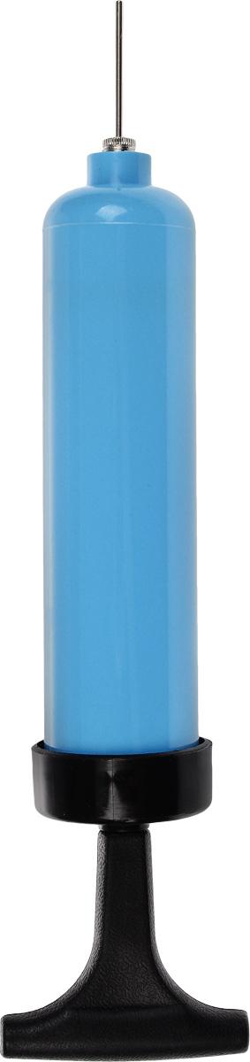 Насос для мячей, цвет: голубой, черный. 804B-10KOCAc6009LEDУдобный компактный насос изготовлен из пластика. Теперь вы с легкостью накачаете любой мяч. Изделие имеет компактный размер и занимает мало места.Игла в комплекте.Длина насоса (без учета иглы): 19,5 см.