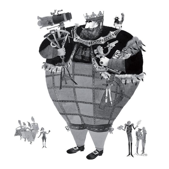 Открытка Король. Автор Марта Журавская1377873Оригинальная дизайнерская открытка «Король» выполнена из плотного матового картона. На лицевой стороне расположена репродукция иллюстрации к «Мэри Поппинс» художницы Марты Журавской.Такая открытка станет великолепным дополнением к подарку или оригинальным почтовым посланием, которое, несомненно, удивит получателя своим дизайном и подарит приятные воспоминания.
