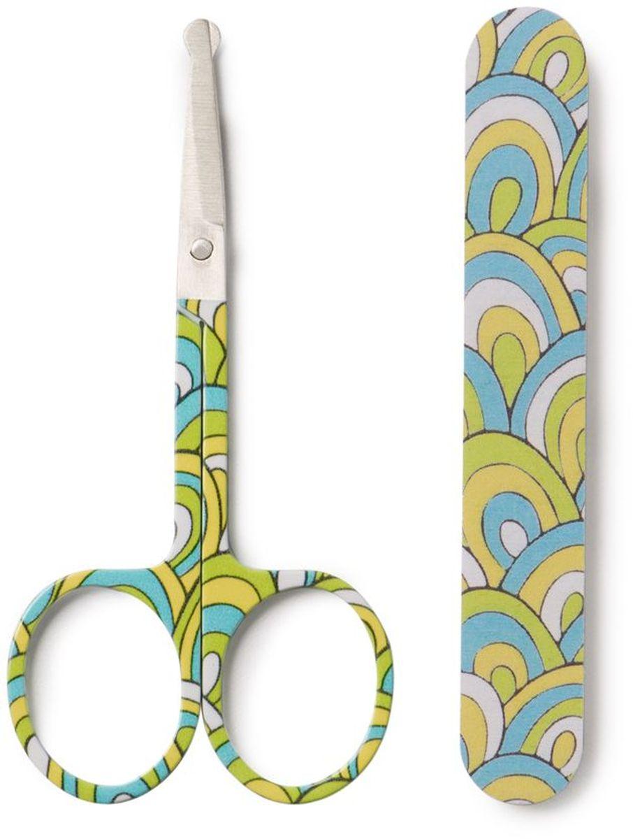 Happy Baby Маникюрный набор 2 предмета17005Маникюрный набор Happy Baby включает в себя безопасные маникюрные ножницы с закругленными кончиками и мелкозернистую пилку.