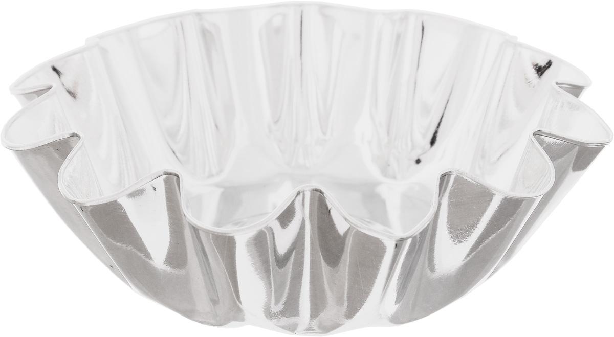 Форма для выпечки Кварц, диаметр 11,4 см16024_оранжевыйФорма Кварц, выполненная из белой жести, предназначена для выпечки и приготовления желе. Стенки изделия рельефные.С формой Кварц вы всегда сможете порадовать своих близких оригинальной выпечкой.Диаметр формы (по верхнему краю): 11,4 см.Высота формы: 3,6 см.