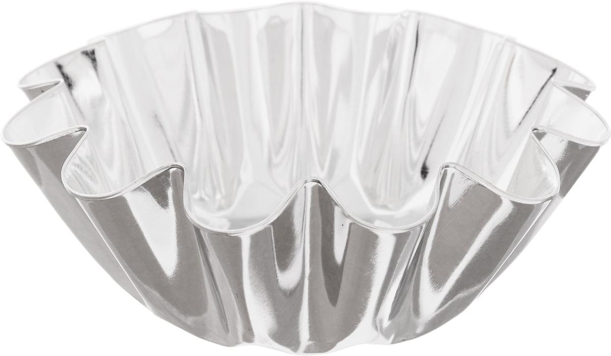 Форма для выпечки Кварц, диаметр 12,4 смFS-91909Форма Кварц, выполненная из белой жести, предназначена для выпечки и приготовления желе. Стенки изделия рельефные.С формой Кварц вы всегда сможете порадовать своих близких оригинальной выпечкой.Диаметр формы (по верхнему краю): 12,4 см.Высота формы: 4,6 см.