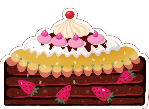 Открытка фигурная с конвертом Тортик, размер: 14х20 см (+ магнит)Брелок для ключейБольшая фигурная открытка «Тортик» с забавным стихотворением внутри станет замечательным дополнением к подарку.