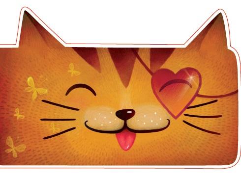 Открытка фигурная с конвертом Котик, размер: 14х20 см (+ магнит)БОЛЬШАЯ 45Большая фигурная открытка «Котик» с забавным стихотворением внутри станет замечательным дополнением к подарку.