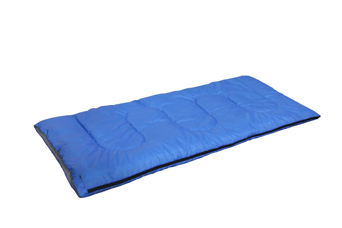 Спальный мешок-одеяло Reka, правосторонняя молния, цвет: синий, черныйSK-111Практичный спальный мешок-одеяло Reka отлично подойдет для летнего сезона в туризме и активного отдыха на природе.Комплектуется компактным чехлом.Размер: 180 х 75 см.Материал наружный: 190Т полиэстер с PA покрытием.Материал внутренний: T/C.Наполнитель: 250гр./м2 холлофайбер.Температурный режим: до +10 С.Вес: 1 кг.