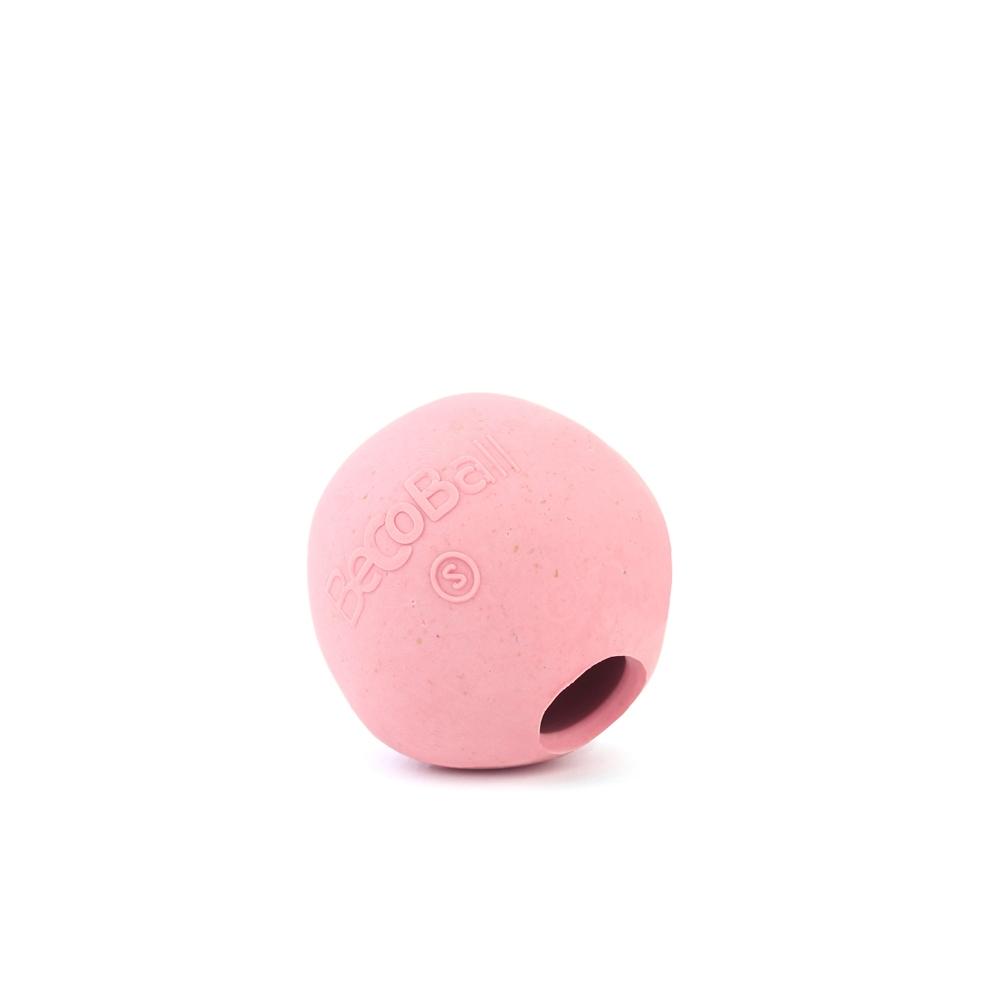 Игрушка для собак BecoThings Мяч, цвет: розовый, диаметр 5 см16263/620875_желтый, оранжевыйИгрушка BecoThings Кость изготовлена из нового революционного экоматериала, состоящего из рисовой шелухи и каучука. Такая игрушка нетоксична, экологически чистая и абсолютно безопасная для собак. Диаметр игрушки: 5 см.