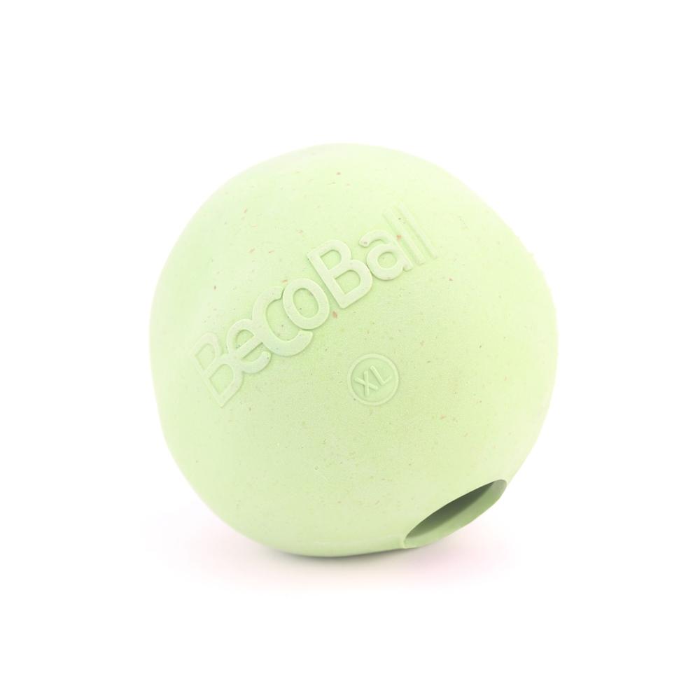 Игрушка для собак BecoThings Мяч, цвет: зеленый, 8,5 см0120710Игрушка для собак BecoThings Мяч была тщательно разработана. Мяч изготовлен из натурального каучука и волокон рисовой шелухи. Игрушка для собак BecoThings Мяч нетоксична, поэтому, если ваш питомец случайно проглотит кусок мяча, то изделие не причинит никакого ущерба.Благодаря неправильной форме шара, мяч прыгает непредсказуемо, тем самым увлекая собаку в игру.Диаметр игрушки: 8,5 см.Материал: рисовая шелуха, каучук.