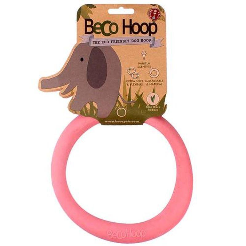 Игрушка для собак BecoThings Кольцо, цвет: розовый, размер S19436Игрушка BecoThings Кольцо идеально подходит для вашего любимого питомца. Толщина игрушки меняется по всей длине игрушки. Это означает, что в любой момент игры ваша собака сможет произвести уверенный захват. Эта игрушка идеально подходит для игр буксира и перетягивания.Игрушка изготовлена из нового революционного экоматериала, состоящего из шелухи риса и каучука. Игрушка нетоксична, экологически чистая и абсолютно безопасная для собак.Размер игрушки: 12 х 12 х 1,75 см.