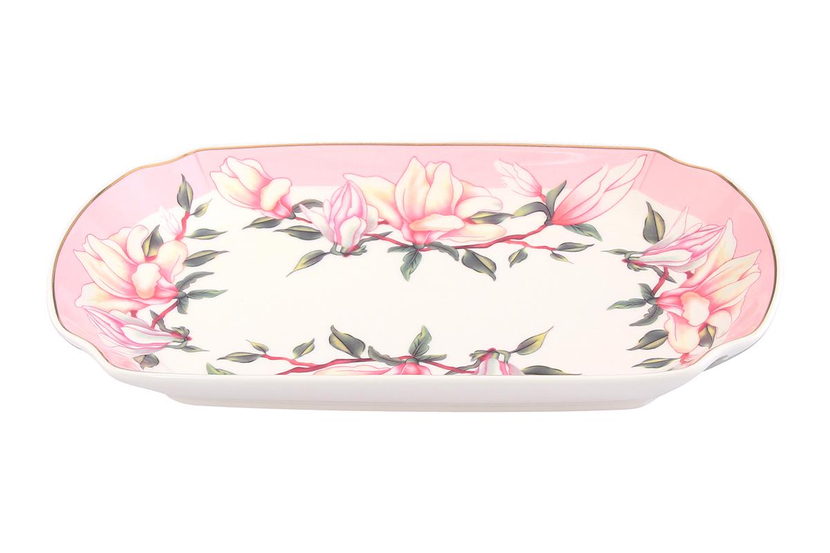 Блюдо Elan Gallery Орхидея на розовом, 29 х 17 х 4 смVT-1520(SR)Сервировочное блюдо Elan Gallery Орхидея на розовом, изготовленное из керамики,прекрасно подойдет для заливного, холодца и слоеных салатов. Блюдооформлено цветочным рисунком с золотистой каймой. Оно украсит сервировку вашего стола и подчеркнет прекрасный вкус хозяйки. Не использовать в микроволновой печи.Объем блюда: 750 мл.
