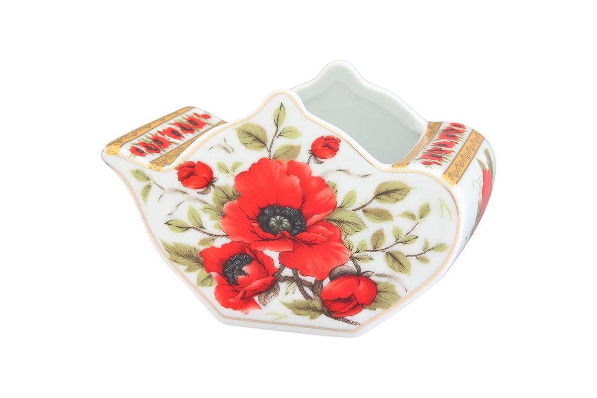 Подставка сервировочная для чайных пакетиков Elan Gallery Чайник. Маки, 12 х 9 х 8 см54 009312Сервировочная подставка для чайных пакетиков Elan Gallery Чайник. Маки, изготовленная из высококачественной керамики, порадует вас оригинальностью и дизайном. Изделие имеет изысканный внешний вид.Такая подставка, несомненно, понравится любой хозяйке и украсит интерьер любой кухни!