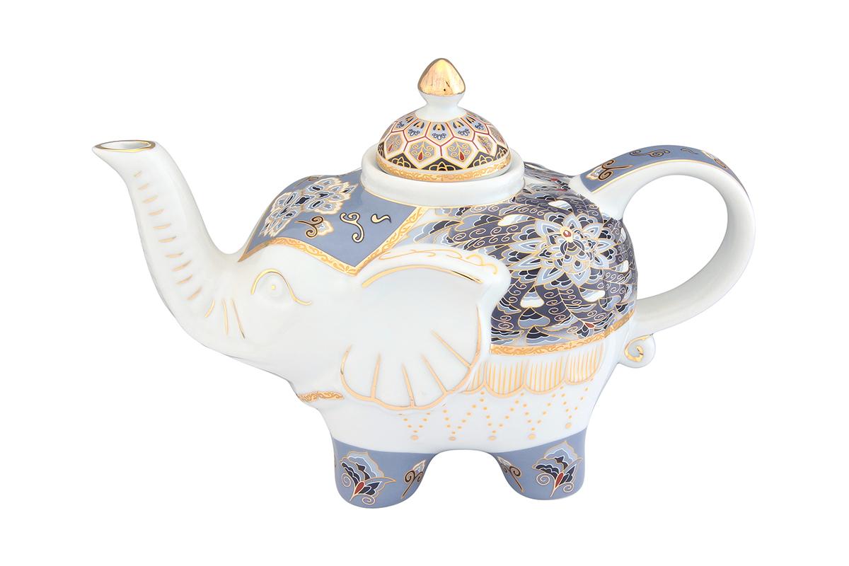 Чайник заварочный Elan Gallery Калейдоскоп, 750 мл54 009312Загадочная страна Индия: чай, слоны, солнце, праздник! Чайник, выполненный в форме слона, будет напоминать Вам об Индии и наполнит Ваш дом солнечным настроением. Изделие имеет подарочную упаковку, идеальный подарок для Ваших близких!Объем чайника: 750 мл.Размер чайника: 23 х 11 х 15 см.