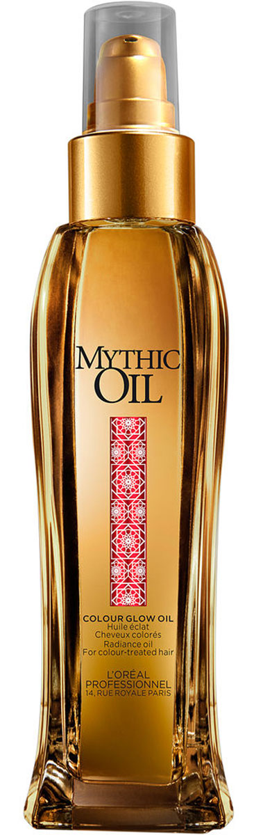 LOreal Professionnel Mythic Oil - Масло-сияние для окрашенных волос 100 млCU500/M5Масло-сияние для ухода за окрашенными волосами делает их блестящими и здоровыми. При регулярном использовании волосы меньше секутся, становятся упругими и легко укладываются. Обладая легкой текстурой и питательным составом, масло подходит для первоначального функционального использования. Использование масла в процессе окраски волос питает и защищает волосы, наделяя их блеском.