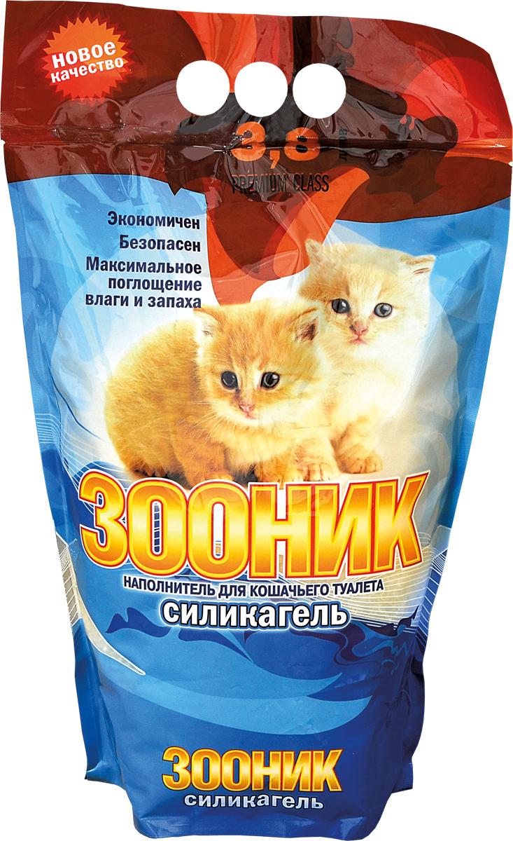 Наполнитель Зооник, силикагель, 3,8 л0120710Наполнитель для кошачьего туалета Зооник силикагелевый обладает высоким влагопоглощением и полностью нейтрализует запах. Также одним из его преимуществ является экономичность. Одного пакета хватит на 5-6 недель. Наполнитель препятствует появлению бактерий в лотке, не пылит и абсолютно безопасен для здоровья людей и животных. >>Объём наполнителя: 3,8 л.