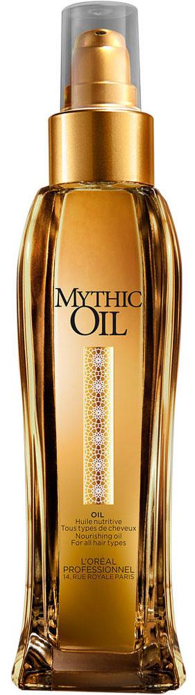 LOreal Professionnel Mythic Oil- Питательное масло для всех типов волос 100 млFS-00897Питательное масло Mythic Oil, основанное на маслах авокадо и виноградных косточек, обладает мягкой консистенцией и ухаживающими свойствами, а также имеет несколько функций для применения.