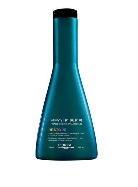 LOreal Professionnel Шампунь для сильно поврежденных волос Pro Fiber Restore Shampoo, 250 млFS-00897LOreal Professionnel Pro Fiber Restore Shampoo - Шампунь для сильно поврежденных волос .Предназначен для ухода за волосами в домашних условиях. С его помощью волосы прекрасно очищаются, они словно оживают от деликатной, мягкой заботы.Активные компоненты:- аминосилан - силиконовое соединение кремния для связывания внутренних слоев волоса в трехмерную сеть - отвечает за укрепление и восстановление структуры.- катионный полимер, покрывающий кутикулу волоса защитной пленкой и «герметизирующий» комплекс Aptyl 100 внутри волоса.Ваши волосы вновь станут сильными, здоровыми, мягкими и шелковистыми.