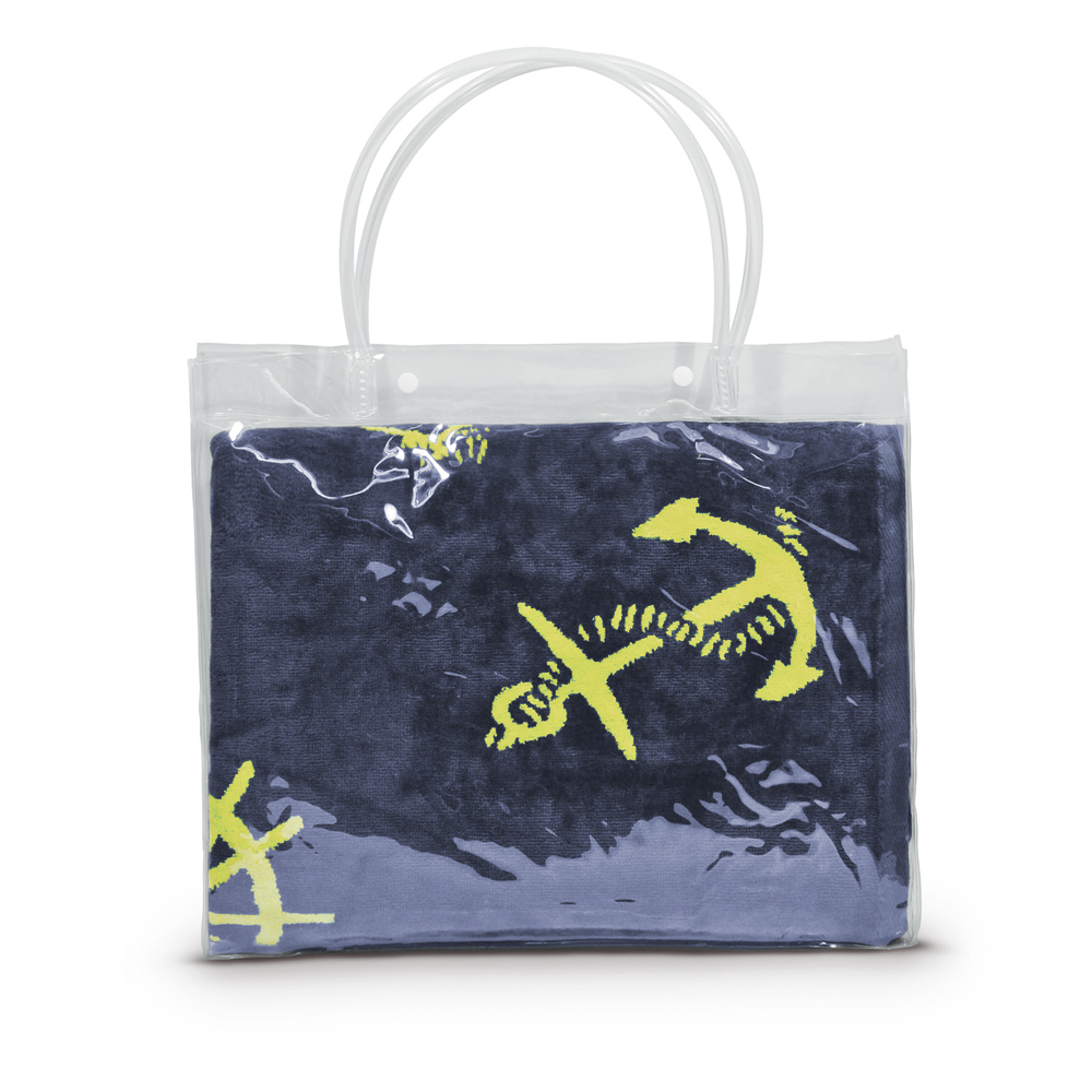 Полотенце пляжное Osborn Textile Якоря, цвет: темно-синий, 70 см х 140 см98299571Пляжное полотенце Osborn Textile Якоря, изготовленное из 100% натурального хлопка с морской тематикой, добавит романтического настроения во время отпуска. Благодаря мягкому хлопку высочайшего качества полотенце мгновенно впитывает в себя большой объем воды. Одна сторона полотенца выполнена из велюровой ткани, вторая - из махровой. Пусть это полотенце станет вашим любимым аксессуаром!Красота и качество сделают его отличным подарком как милым дамам, так и мужчинам.Плотность: 450 г/м2.