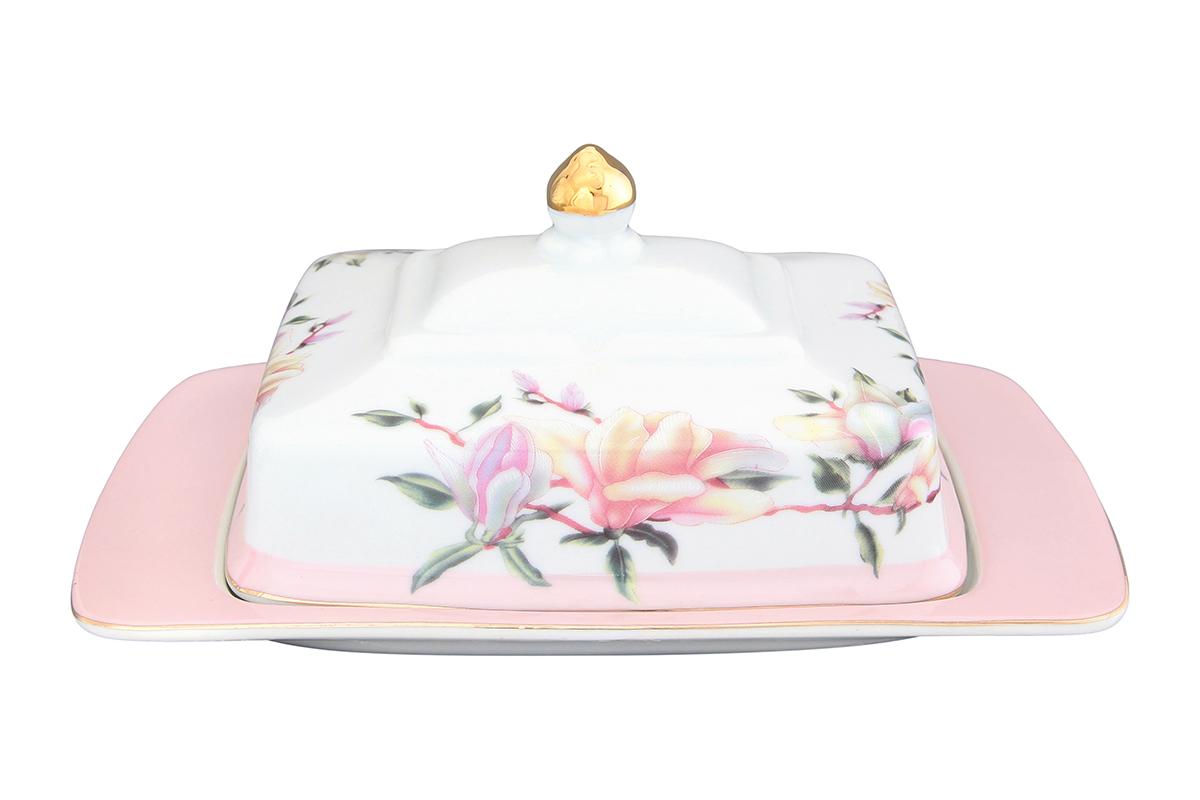 Масленка Elan Gallery Орхидея на розовомVT-1520(SR)Великолепная масленка Elan Gallery Орхидея на розовом, выполненная из высококачественной керамики, предназначена для красивой сервировки и хранения масла. Она состоит из подноса и крышки. Масло в ней долго остается свежим, а при хранении в холодильнике не впитывает посторонние запахи. Масленка Elan Gallery Орхидея на розовом идеально подойдет для сервировки стола и станет отличным подарком к любому празднику.Не рекомендуется применять абразивные моющие средства. Не использовать в микроволновой печи.Размер масленки: 20 х 14 х 9,5 см.