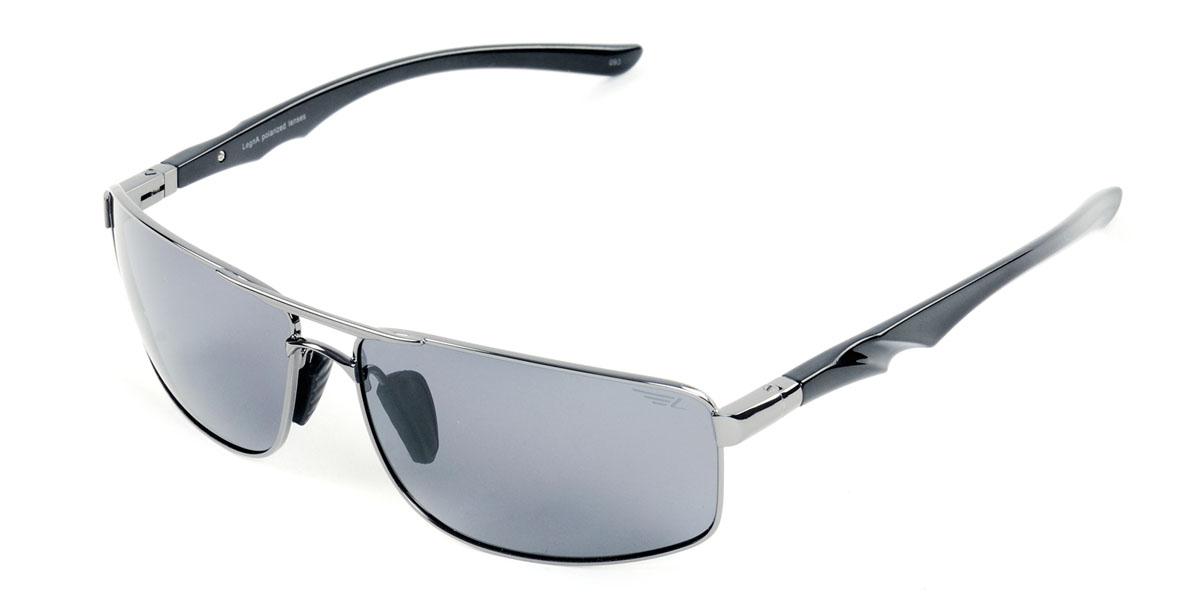 Очки поляризационные мужские Legna, цвет: стальной, серый. S4404AINT-06501Солнцезащитные очки Legna с поляризационными линзами превосходно предохраняют глаза от любого рода вредных бликов и УФ-лучей, что делает вождение безопасным и комфортным. Также очки Legna ничем не уступают самым известным маркам и брендам в эстетической части. Благодаря линзам премиум класса очки Legna прекрасно подходят для повседневной носки, занятий спортом, отдыха и конечно для использования за рулем.