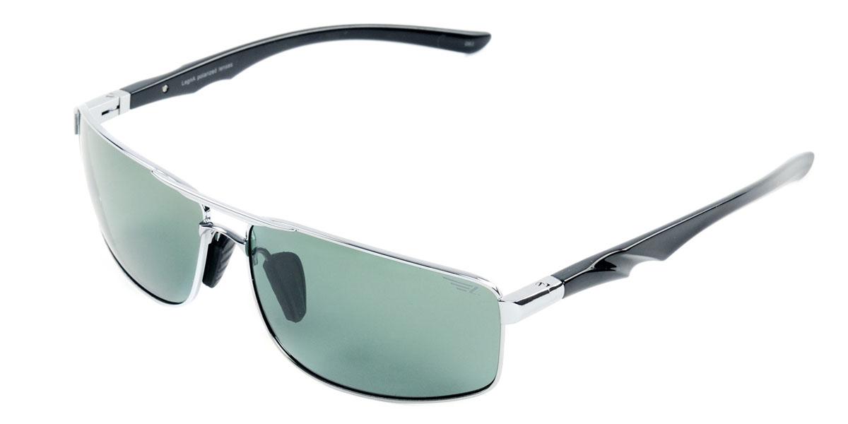 Очки поляризационные Legna, цвет: серо-зеленый. S4404BINT-06501Стильные солнцезащитные очки Legna сделают приятной прогулку в жаркий солнечный полдень. Их также по достоинству оценят водители, так как эта модель очков оснащена уникальными поляризационными линзами, которые задерживают раздражающие блики, что гарантирует полный зрительный комфорт и, как результат, повышенную безопасность. Высокоэффективный встроенный УФ фильтр обеспечивает совершенную защиту от вредных ультрафиолетовых лучейКроме того, это эффектный аксессуар, который наверняка станет «изюминкой» вашего индивидуального стиля. Оправа не только красивая, но и прочная, а линзы со временем не покроются мелкими царапинами. Чистка и обслуживание:Вымыть теплой водой, вытереть мягкой сухой салфеткой. Условия хранения: в футляре при нормальных климатических условиях.Предупреждение:Не использовать в солярии, не смотреть на прямые солнечные лучи, не использовать при управлении автомобилем в сумерках и ночью.