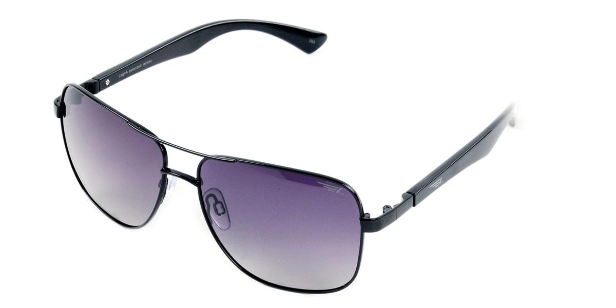 Очки поляризационные Legna, цвет: черный. S4405AINT-06501Стильные солнцезащитные очки Legna сделают приятной прогулку в жаркий солнечный полдень. Их также по достоинству оценят водители, так как эта модель очков оснащена уникальными поляризационными линзами, которые задерживают раздражающие блики, что гарантирует полный зрительный комфорт и, как результат, повышенную безопасность. Высокоэффективный встроенный УФ фильтр обеспечивает совершенную защиту от вредных ультрафиолетовых лучейКроме того, это эффектный аксессуар, который наверняка станет «изюминкой» вашего индивидуального стиля. Оправа не только красивая, но и прочная, а линзы со временем не покроются мелкими царапинами. Чистка и обслуживание:Вымыть теплой водой, вытереть мягкой сухой салфеткой. Условия хранения: в футляре при нормальных климатических условиях.Предупреждение:Не использовать в солярии, не смотреть на прямые солнечные лучи, не использовать при управлении автомобилем в сумерках и ночью.