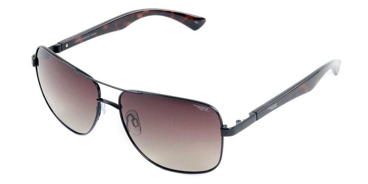 Очки поляризационные Legna, цвет: коричневый. S4405BBM8434-58AEСтильные солнцезащитные очки Legna S4501A сделают приятной прогулку в жаркий солнечный полдень. Их также по достоинству оценят водители, так как эта модель очков оснащена уникальными поляризационными линзами, которые задерживают раздражающие блики, что гарантирует полный зрительный комфорт и, как результат, повышенную безопасность. Высокоэффективный встроенный УФ фильтр обеспечивает совершенную защиту от вредных ультрафиолетовых лучейКроме того, это эффектный аксессуар, который наверняка станет «изюминкой» вашего индивидуального стиля. Оправа не только красивая, но и прочная, а линзы со временем не покроются мелкими царапинами. Чистка и обслуживание:Вымыть теплой водой, вытереть мягкой сухой салфеткой. Условия хранения: в футляре при нормальных климатических условиях.Предупреждение:Не использовать в солярии, не смотреть на прямые солнечные лучи, не использовать при управлении автомобилем в сумерках и ночью.