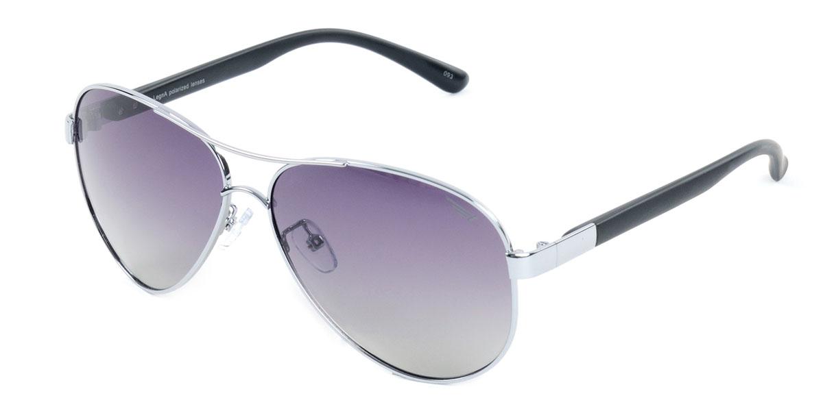 Очки поляризационные Legna, цвет: черный. S4409A1900671-5605Стильные солнцезащитные очки Legna сделают приятной прогулку в жаркий солнечный полдень. Их также по достоинству оценят водители, так как эта модель очков оснащена уникальными поляризационными линзами, которые задерживают раздражающие блики, что гарантирует полный зрительный комфорт и, как результат, повышенную безопасность. Высокоэффективный встроенный УФ фильтр обеспечивает совершенную защиту от вредных ультрафиолетовых лучейКроме того, это эффектный аксессуар, который наверняка станет «изюминкой» вашего индивидуального стиля. Оправа не только красивая, но и прочная, а линзы со временем не покроются мелкими царапинами. Чистка и обслуживание:Вымыть теплой водой, вытереть мягкой сухой салфеткой. Условия хранения: в футляре при нормальных климатических условиях.Предупреждение:Не использовать в солярии, не смотреть на прямые солнечные лучи, не использовать при управлении автомобилем в сумерках и ночью.